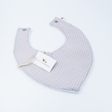 Bandana Little Dots gris