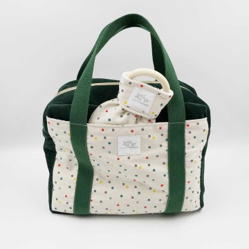 Boston Bag Kybos con bolsillo
