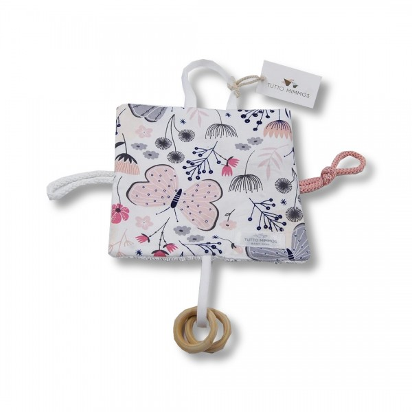 Trapito sensorial Butterfly rosa
